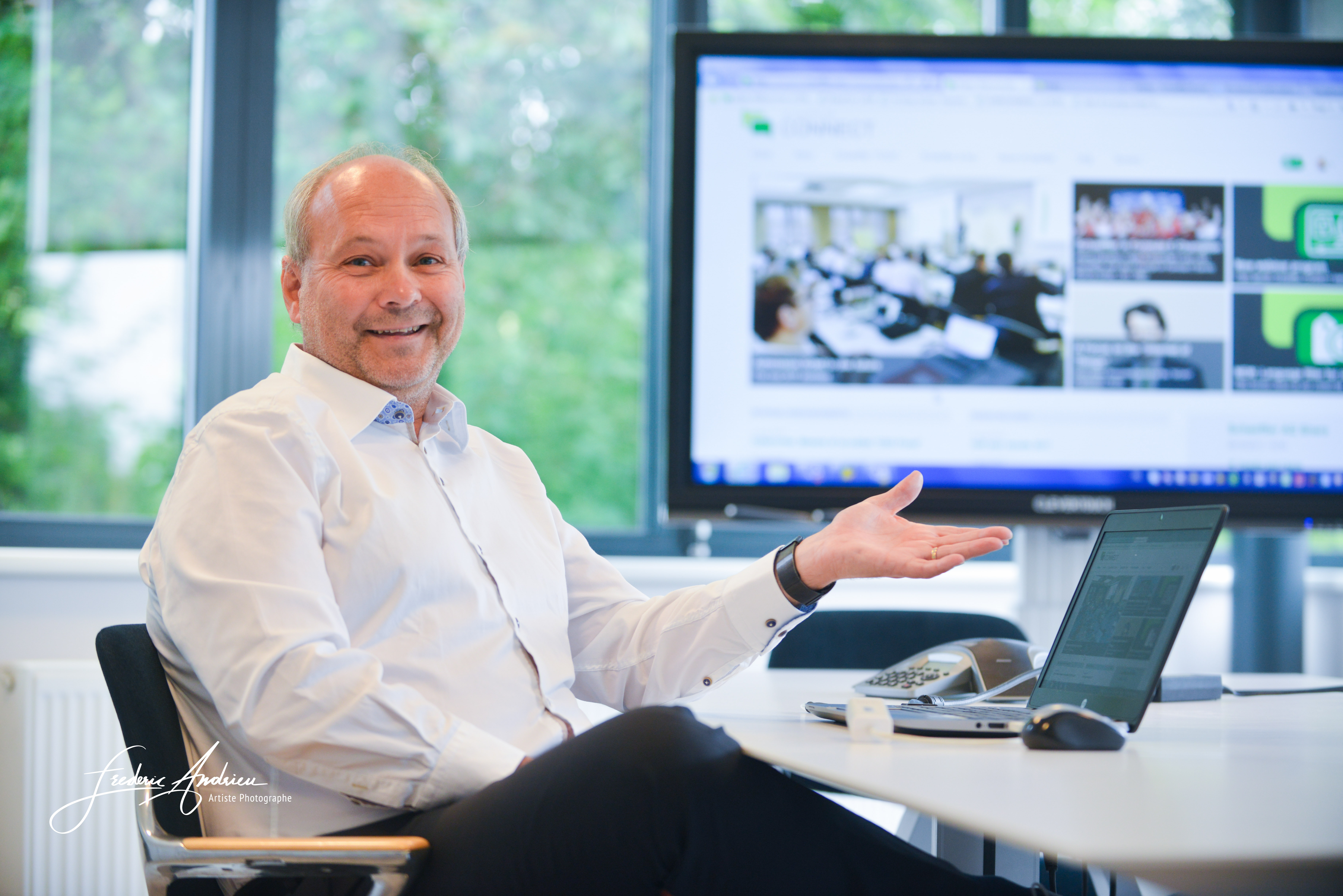 Portrait Directeur Schaeffler Belgium